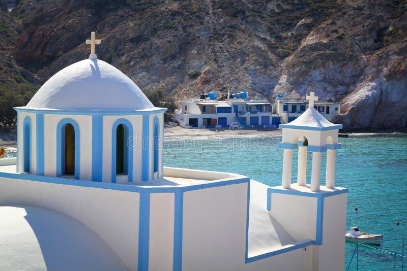 Εκκλησία στο νησί της Μήλου στοκ φωτογραφία με δικαίωμα ελεύθερης χρήσης