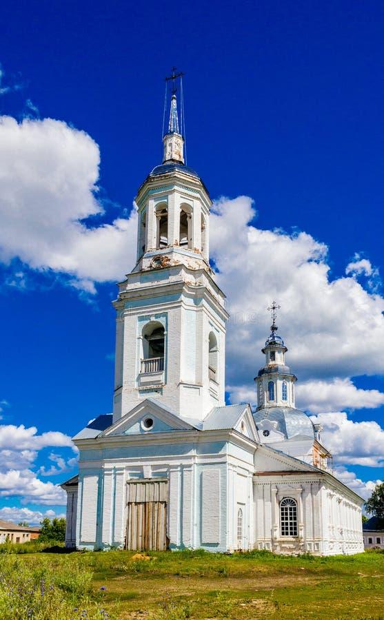 Εκκλησία στο petrovskoye στοκ φωτογραφίες