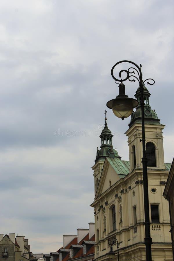 Εκκλησία στο stary miasto στοκ εικόνα με δικαίωμα ελεύθερης χρήσης