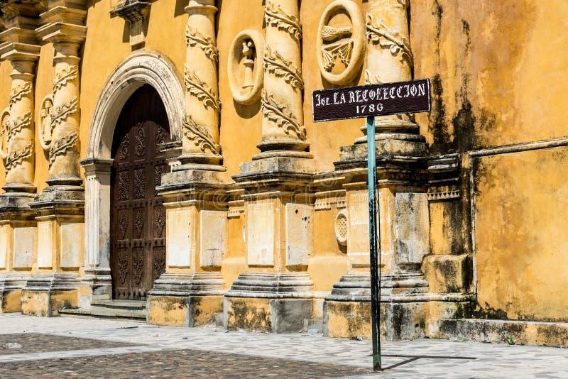 Εκκλησία της ανάμνησης (Iglesia de Λα Recollecion), Leon στοκ εικόνα με δικαίωμα ελεύθερης χρήσης