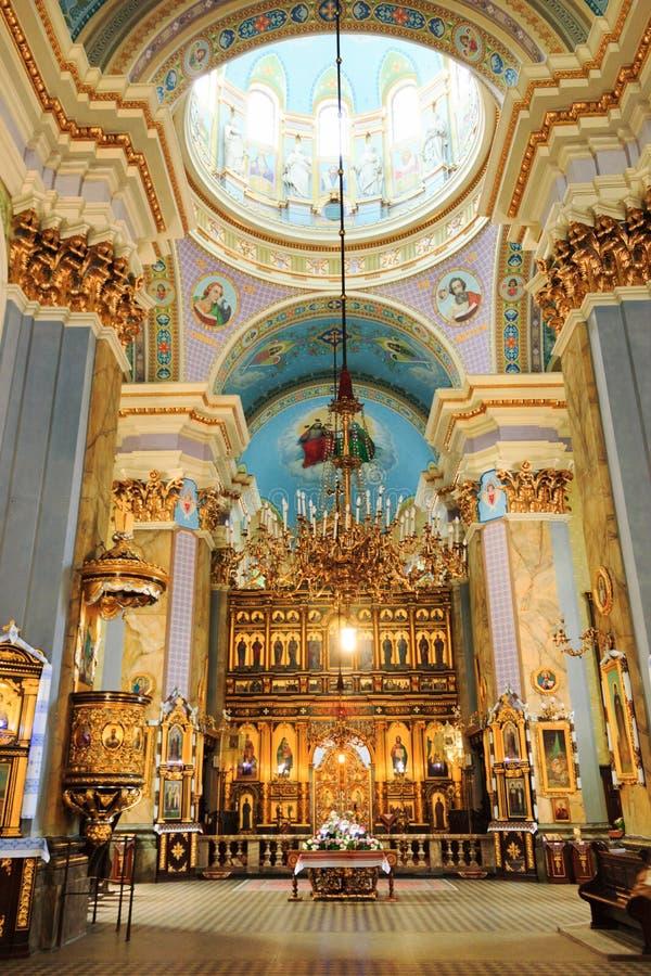Εκκλησία της μεταμόρφωσης σε Lviv στοκ εικόνα με δικαίωμα ελεύθερης χρήσης