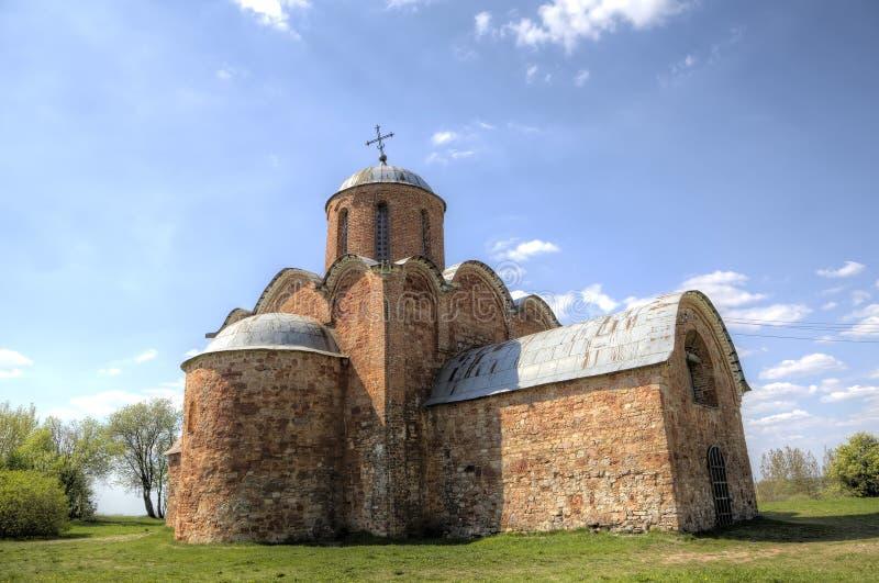 Εκκλησία της μεταμόρφωσης του λυτρωτή μας σε Kovalyovo στοκ φωτογραφία με δικαίωμα ελεύθερης χρήσης