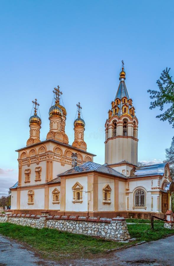 Εκκλησία της μεταμόρφωσης του λυτρωτή μας σε Yar, Ryazan, Rus στοκ εικόνες