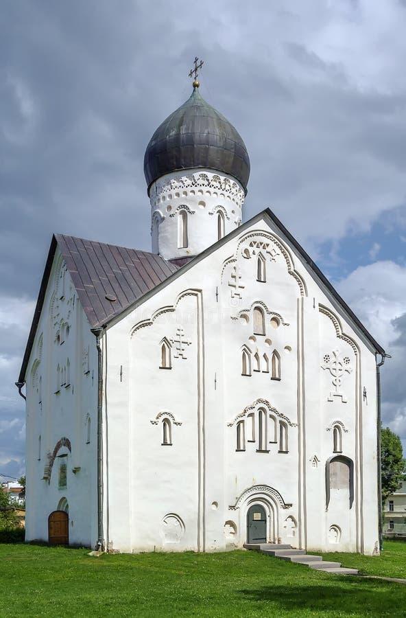 Εκκλησία της μεταμόρφωσης του Savior μας, Veliky Novgorod στοκ εικόνα με δικαίωμα ελεύθερης χρήσης