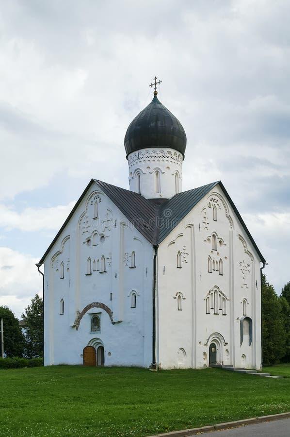 Εκκλησία της μεταμόρφωσης του Savior μας, Veliky Novgorod στοκ φωτογραφίες