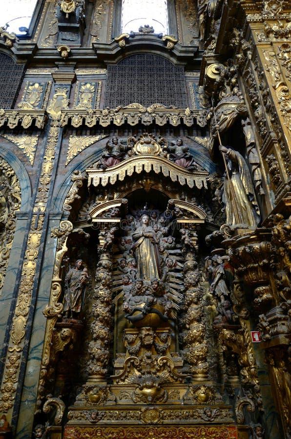 Εκκλησία της Σάντα Κλάρα, Πόρτο, Πορτογαλία στοκ εικόνες με δικαίωμα ελεύθερης χρήσης