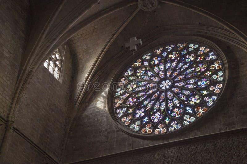Εκκλησία της Σάντα Μαρία del pi Βαρκελώνη Ισπανία στοκ φωτογραφία