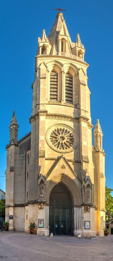 Εκκλησία της Anna Santa στο Μονπελιέ στοκ φωτογραφία με δικαίωμα ελεύθερης χρήσης