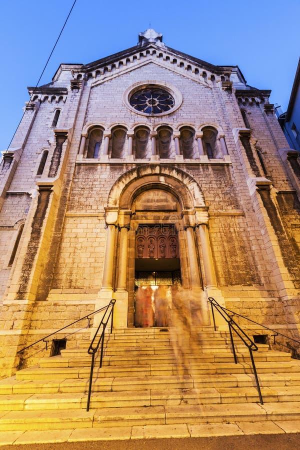 Εκκλησία της Notre Dame de Bon Voyage στις Κάννες στοκ εικόνες