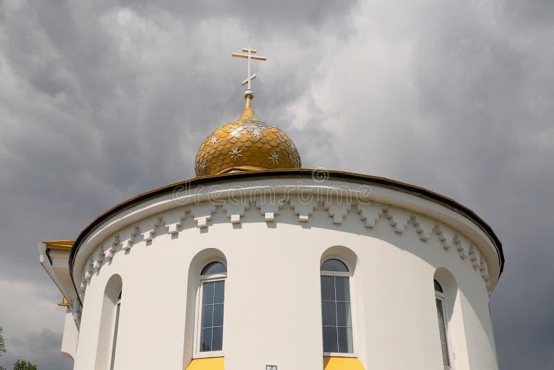 Εκκλησία του Άγιου Βασίλη στο χωριό Danilovichi της περιοχής Vetka, περιοχή Gomel, της Λευκορωσίας στοκ φωτογραφία με δικαίωμα ελεύθερης χρήσης