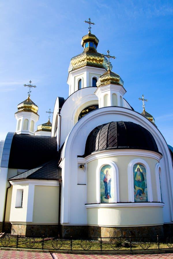 Εκκλησία του Άγιου Βασίλη Chernigov, Ουκρανία στοκ φωτογραφία με δικαίωμα ελεύθερης χρήσης