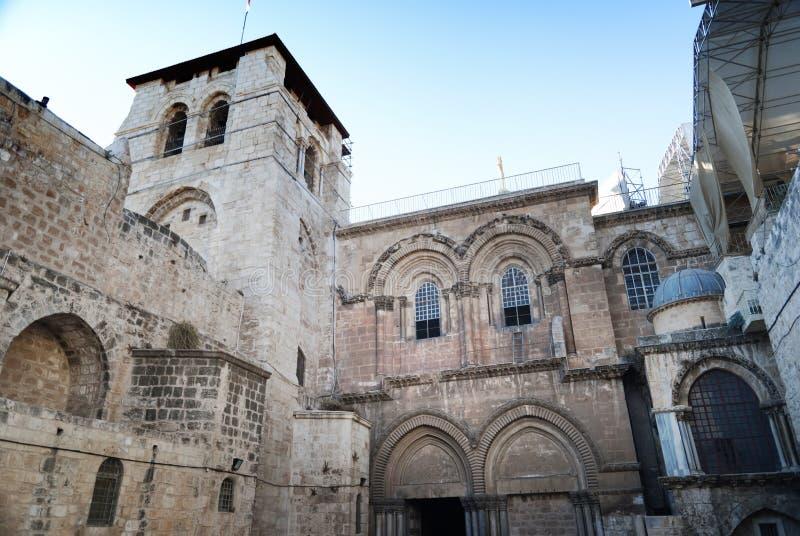 Εκκλησία του ιερού τάφου, Ιερουσαλήμ, Ισραήλ στοκ εικόνες