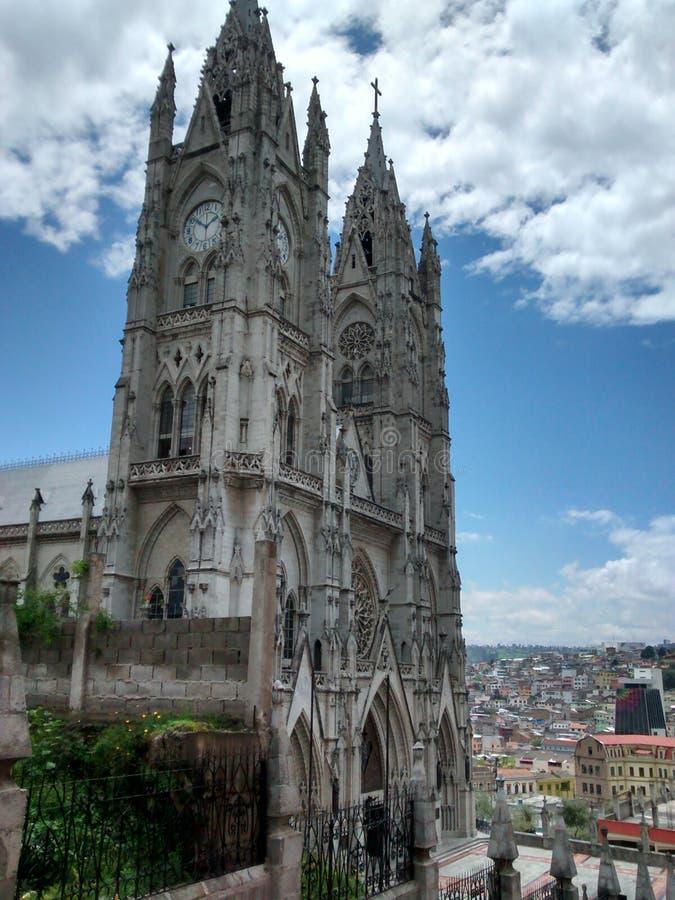 Εκκλησία του Κουίτο στοκ εικόνα