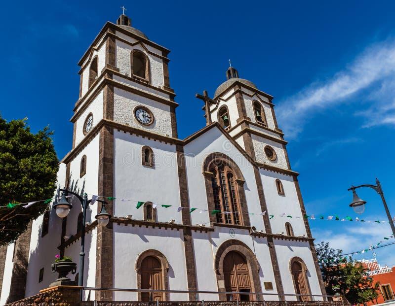 Εκκλησία του Λα candelaria-Ingenio, θλγραν θλθαναρηα, Ισπανία στοκ εικόνα με δικαίωμα ελεύθερης χρήσης