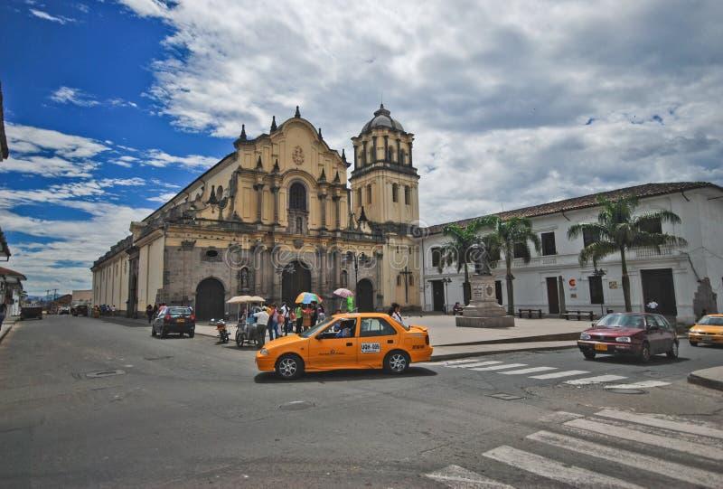 Εκκλησία του Σαν Φρανσίσκο, Popayán, Κολομβία στοκ εικόνες με δικαίωμα ελεύθερης χρήσης
