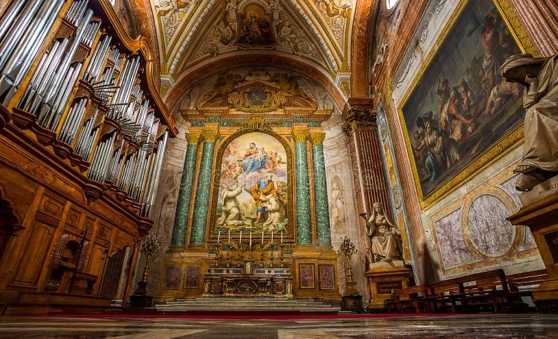 Εκκλησία του degli Angeli της Σάντα Μαρία. Ρώμη. Ιταλία. στοκ φωτογραφίες με δικαίωμα ελεύθερης χρήσης