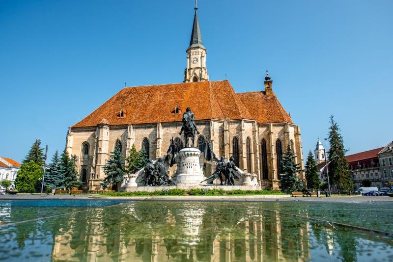 Εκκλησία του Michael στο Cluj Napoca στοκ φωτογραφίες με δικαίωμα ελεύθερης χρήσης