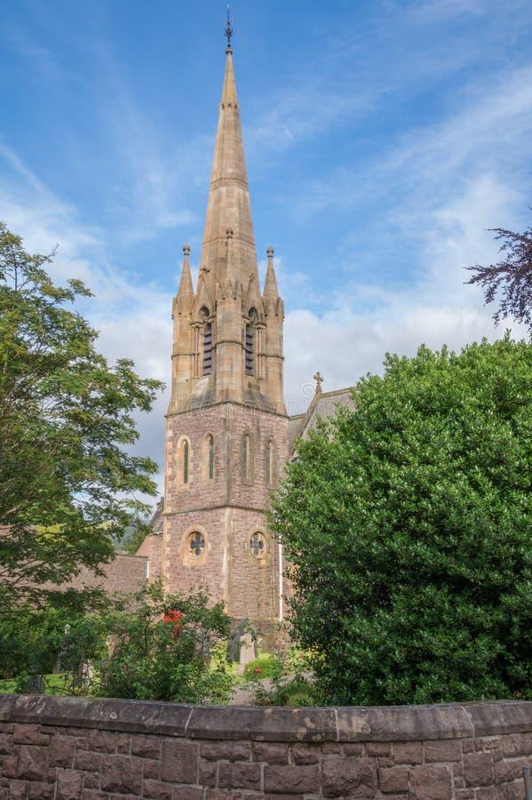 Εκκλησία του Saint-Andrews, οχυρό William, Σκωτία στοκ φωτογραφίες