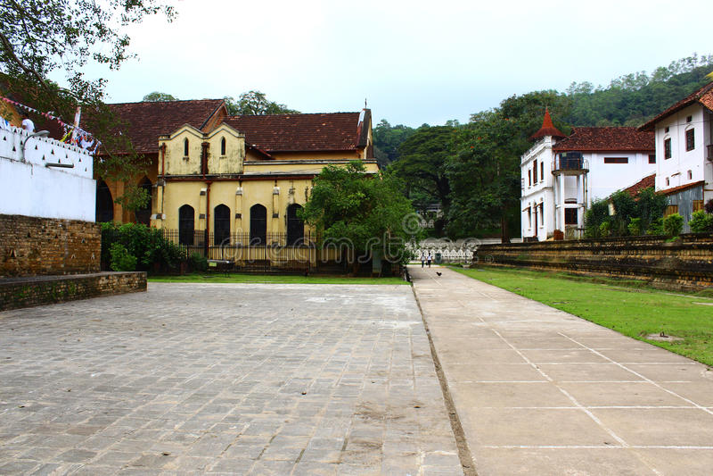 Εκκλησία του Saint-Paul, Kandy, ναός του δοντιού στοκ φωτογραφία
