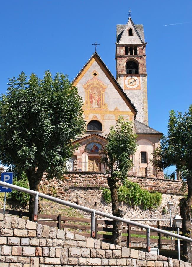 Εκκλησία του SAN Nicolà ², Carano στοκ εικόνες