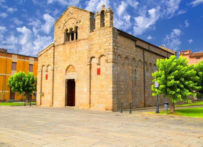 Εκκλησία του SAN Simplicio σε Olbia στοκ εικόνα με δικαίωμα ελεύθερης χρήσης
