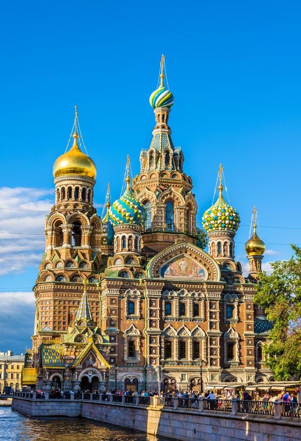 Εκκλησία του Savior στο αίμα - Αγία Πετρούπολη στοκ εικόνες