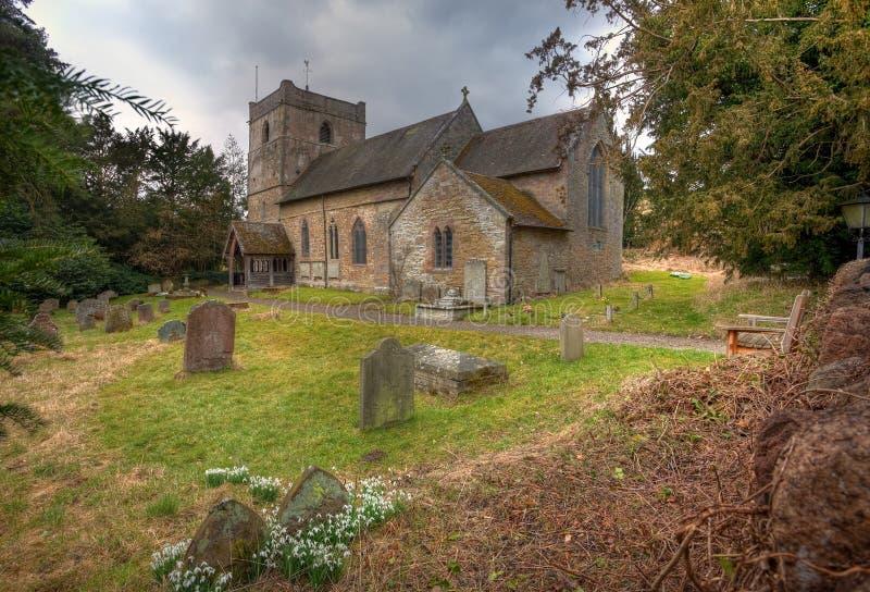 Εκκλησία του Shropshire στοκ φωτογραφίες