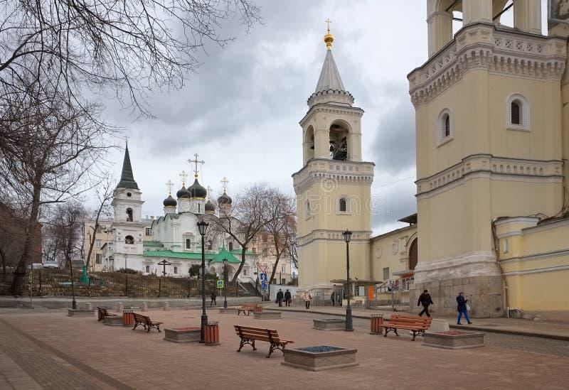 Εκκλησία του ST Βλαντιμίρ στους παλαιούς κήπους στοκ εικόνες με δικαίωμα ελεύθερης χρήσης