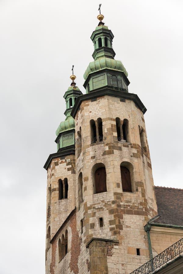 Εκκλησία του ST Andrew στην Κρακοβία, Πολωνία στοκ φωτογραφίες με δικαίωμα ελεύθερης χρήσης