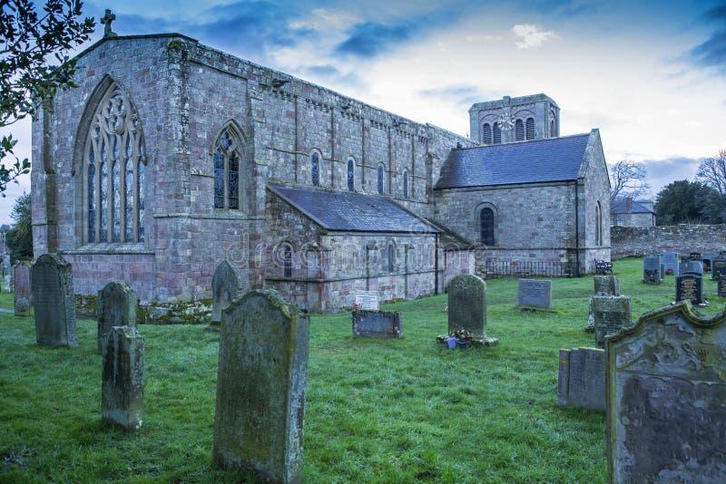 Εκκλησία του ST Cuthbert, Norham στοκ εικόνες με δικαίωμα ελεύθερης χρήσης