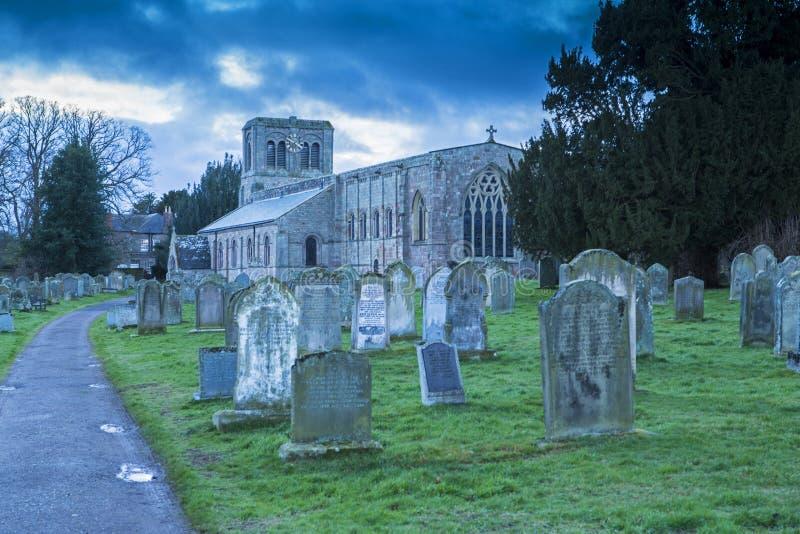 Εκκλησία του ST Cuthbert, Norham στοκ φωτογραφία με δικαίωμα ελεύθερης χρήσης