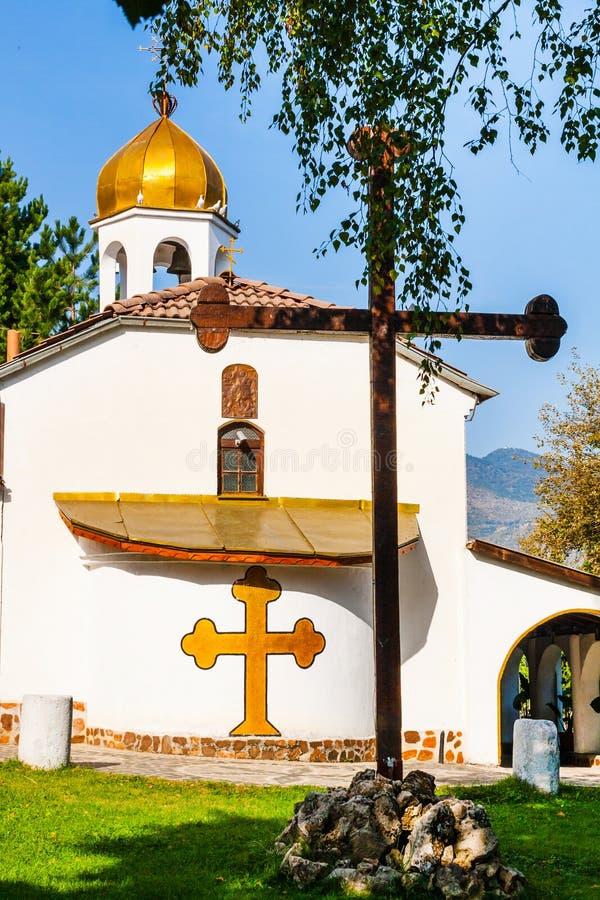Εκκλησία του ST George στο Άνω Νευροκόπι, Βουλγαρία στοκ φωτογραφίες με δικαίωμα ελεύθερης χρήσης