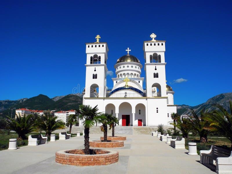 Εκκλησία του ST John Βλαντιμίρ στο φραγμό, Μαυροβούνιο στοκ εικόνες με δικαίωμα ελεύθερης χρήσης