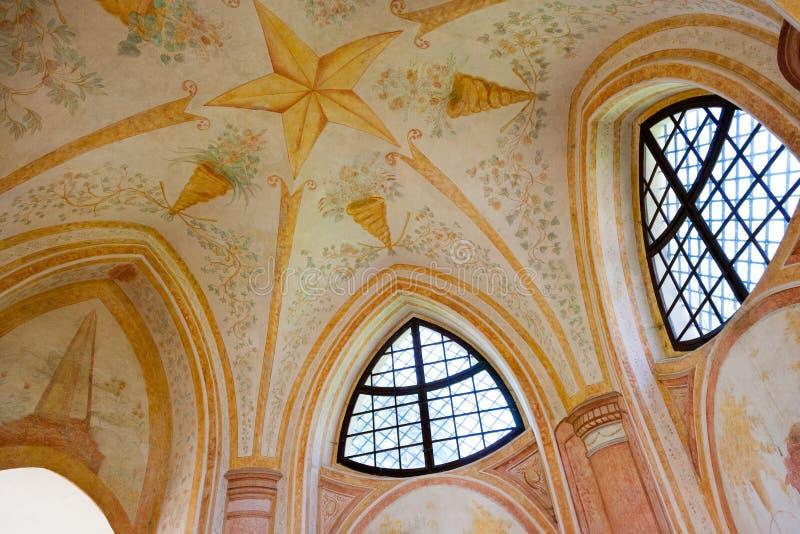 Εκκλησία του ST John Nepomuk, Zelena Hora, ΟΥΝΕΣΚΟ, NAD Saza Zdar στοκ εικόνα με δικαίωμα ελεύθερης χρήσης