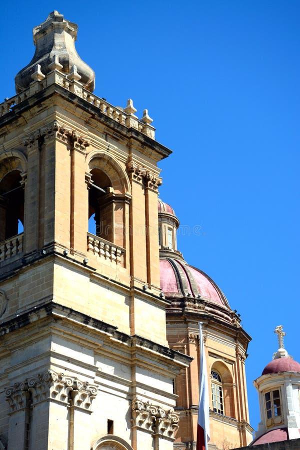 Εκκλησία του ST Lawrence, Vittoriosa στοκ εικόνες με δικαίωμα ελεύθερης χρήσης