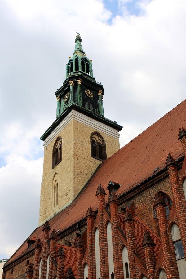 Εκκλησία του ST Mary, Βερολίνο στοκ εικόνα με δικαίωμα ελεύθερης χρήσης