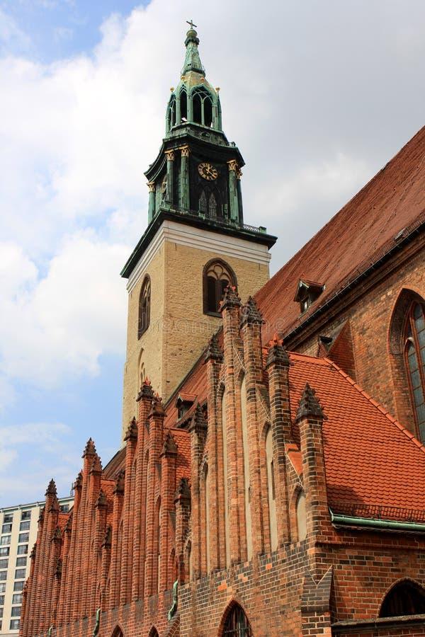 Εκκλησία του ST Mary, Βερολίνο στοκ εικόνες