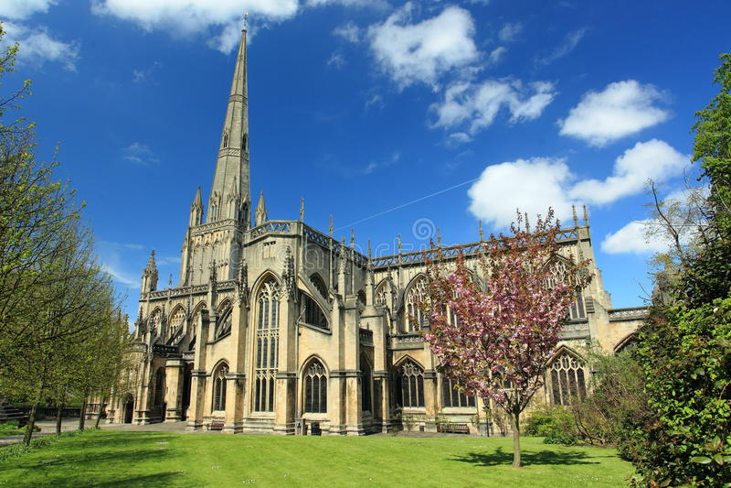 Εκκλησία του ST Mary στο Μπρίστολ στοκ φωτογραφία με δικαίωμα ελεύθερης χρήσης
