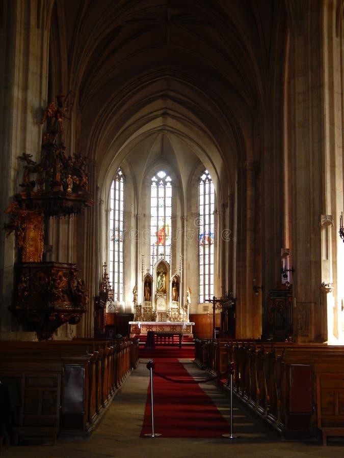 Εκκλησία του ST Michael, Cluj-Napoca στοκ φωτογραφίες