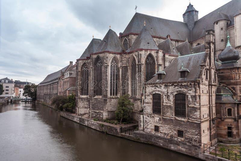 Εκκλησία του ST Michael gent στοκ εικόνα