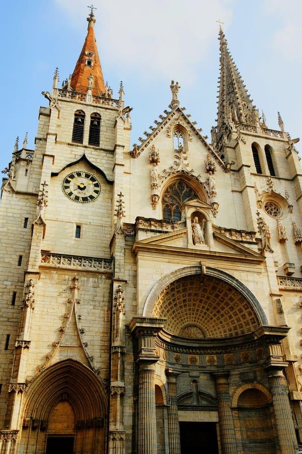 Εκκλησία του ST Nizier στη Λυών Γαλλία στοκ φωτογραφίες με δικαίωμα ελεύθερης χρήσης