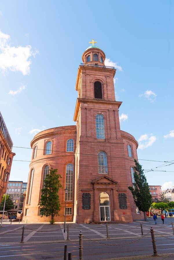 Εκκλησία του ST Paul ` s Paulskirche στη Φρανκφούρτη στοκ φωτογραφία με δικαίωμα ελεύθερης χρήσης