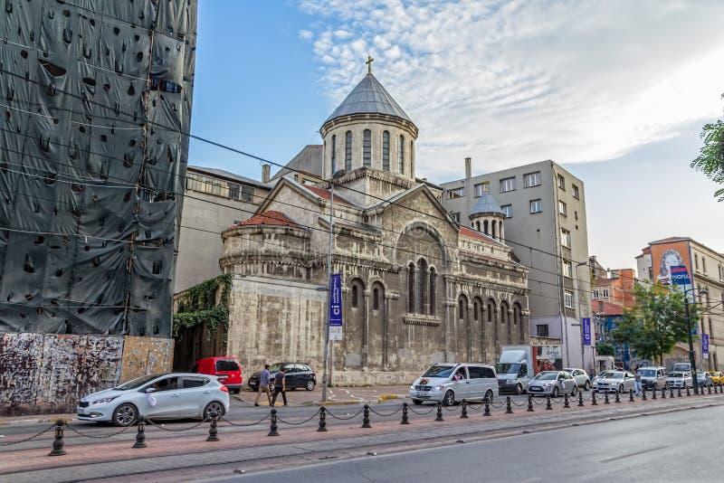 Εκκλησία του ST Peter και Paul στη Ιστανμπούλ στοκ εικόνα