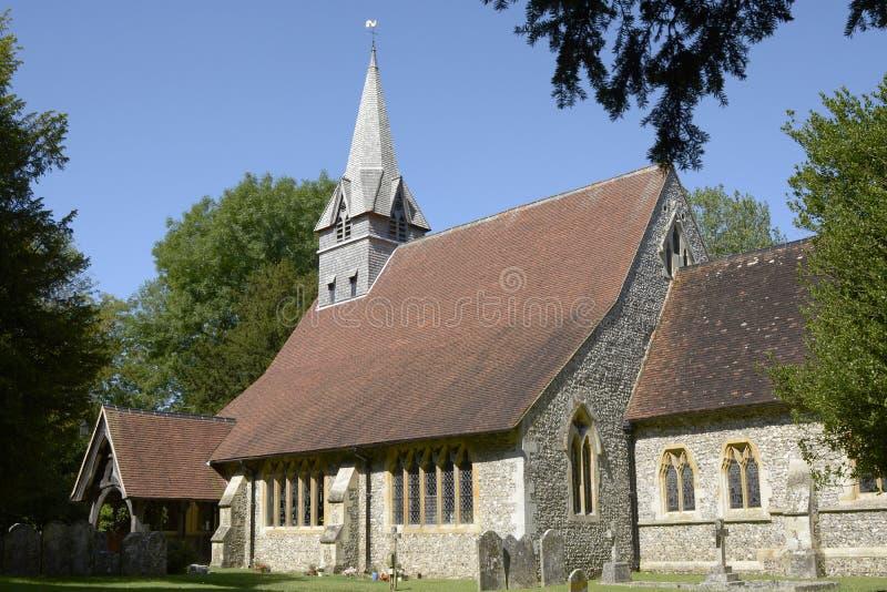 Εκκλησία του ST Peters σε Wherwell Χάμπσαϊρ Αγγλία στοκ εικόνες