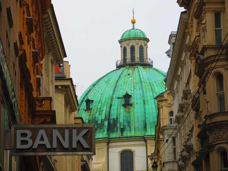Εκκλησία του ST Peters στη Βιέννη στοκ φωτογραφία με δικαίωμα ελεύθερης χρήσης