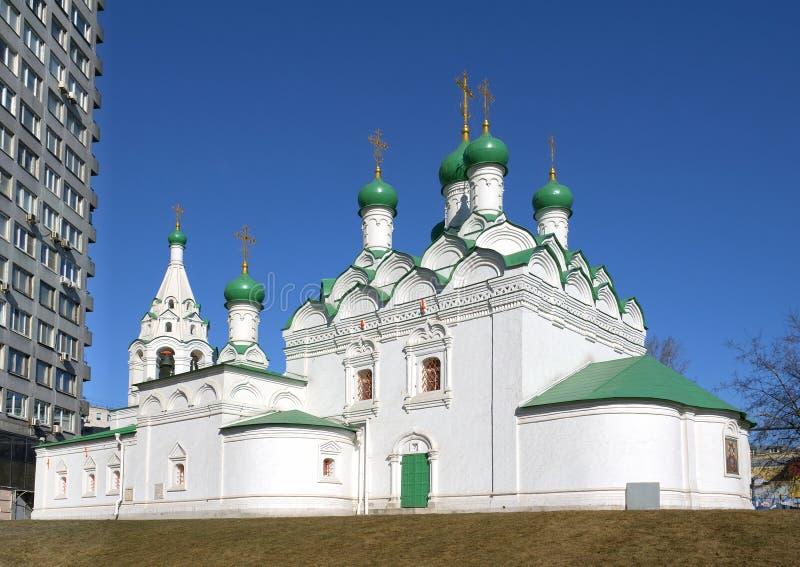 Εκκλησία του ST Simeon, Μόσχα στοκ εικόνα με δικαίωμα ελεύθερης χρήσης