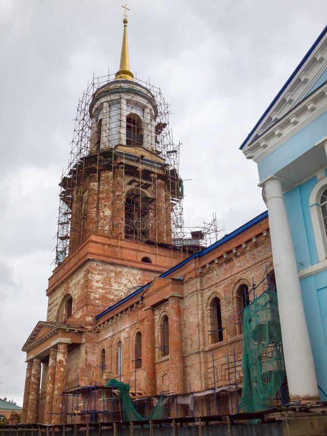 εκκλησία υπόθεσης novgorod Πόλη Yelets στοκ εικόνες