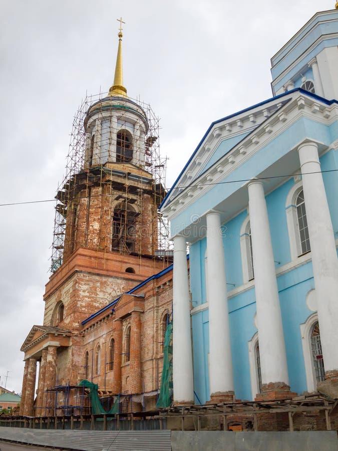 εκκλησία υπόθεσης novgorod Πόλη Yelets στοκ εικόνα
