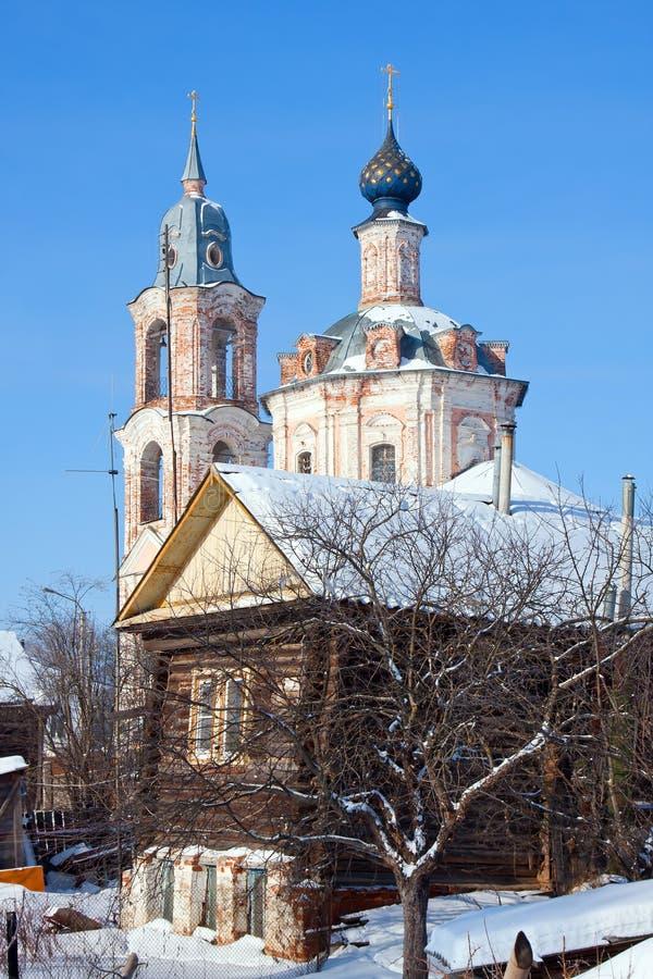 Download Εκκλησία χριστιανισμού στη Ρωσία, περιοχή Kostroma, Nerechta Στοκ Εικόνα - εικόνα από εκκλησία, ποταμός: 22780137