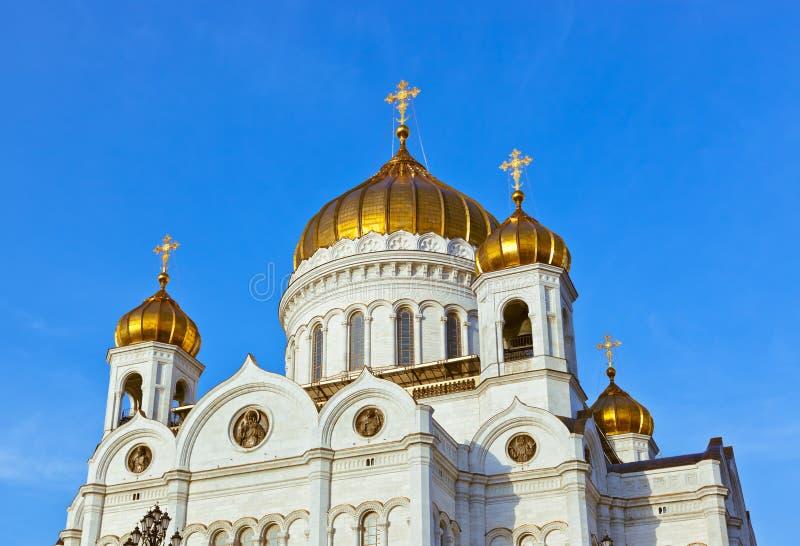 Εκκλησία Χριστού το Savior στη Μόσχα Ρωσία στοκ εικόνες